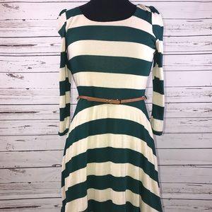 NWOT Belted Dress